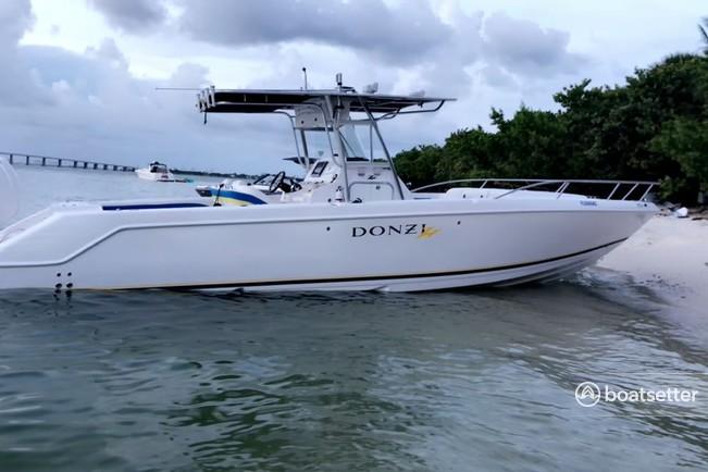 Rent a Donzi Marine flats boat in Miami, FL near me