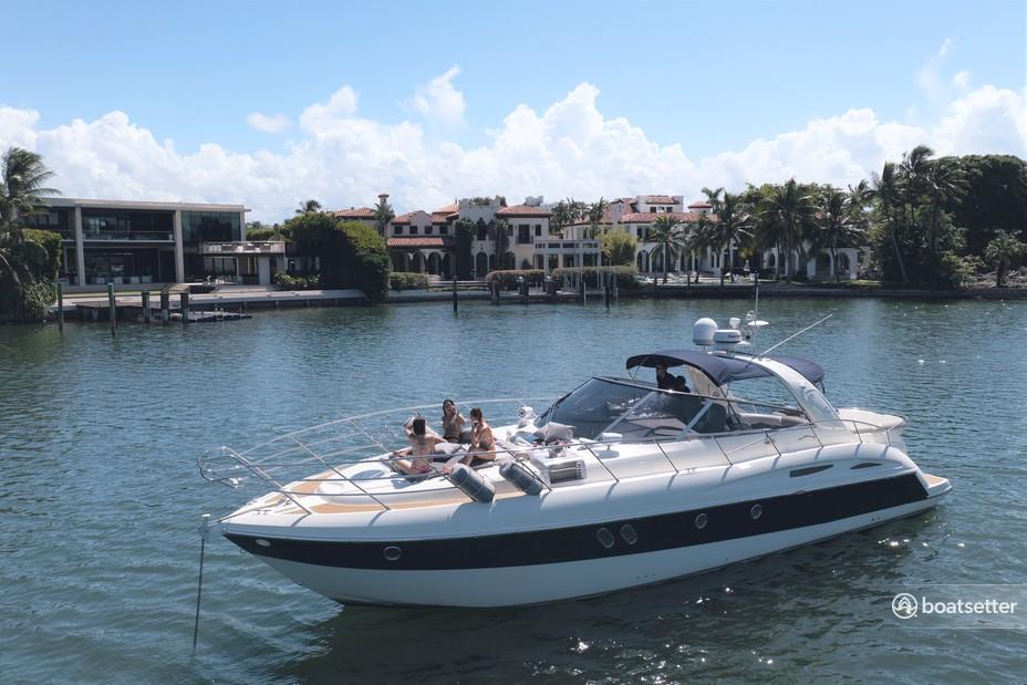 Rent a Cranchi cruiser in Key Biscayne, FL near me