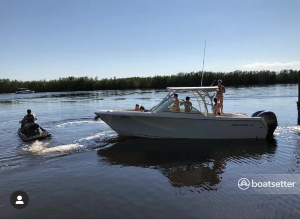 Rent a Sailfish Boats by Seminole dual console in Cape Coral, FL near me