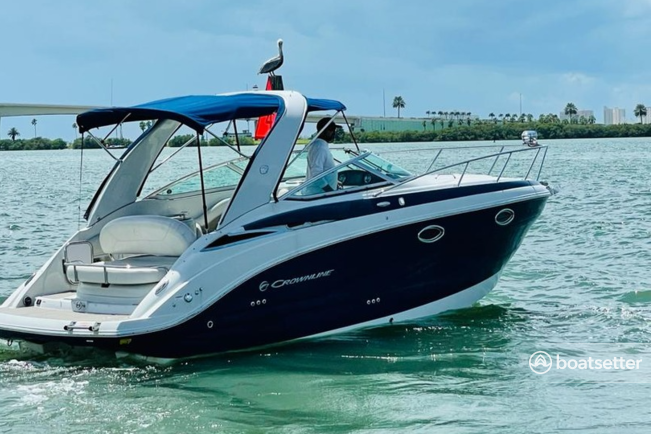 Rent a Crownline Boats motor yacht in Clearwater, FL near me