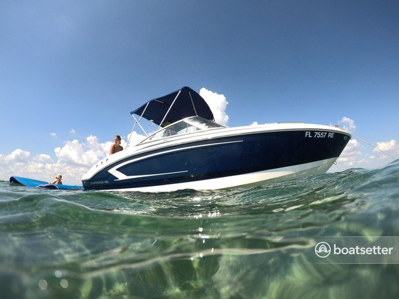 Rent a CHAPARRAL BOATS deck boat in Key Biscayne, FL near me